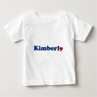 Kimberly with Heart Tshirts