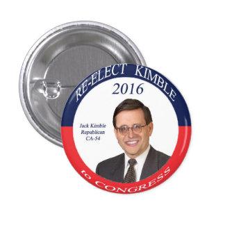 Kimble 2016 Campaign Button
