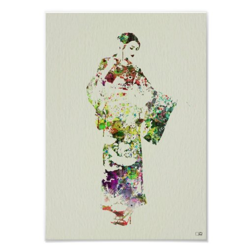 Kimono Dancer Photo Print
