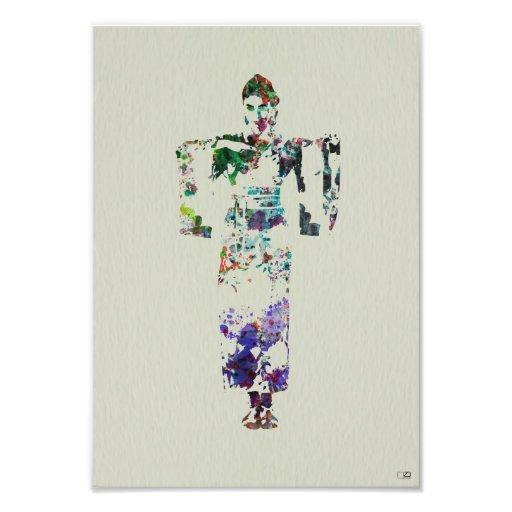 Kimono Dancer Photographic Print