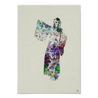 Kimono Dancer Photo Art
