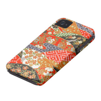 kimono Japanese style iphone cover iPhone 4 Covers