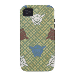 Kimono Pattern iPhone 4s Case Vibe iPhone 4 Cover