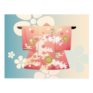 Kimono Postcard