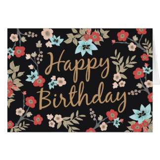 Browse the Birthday Cards Collection and personalise by colour, design or style.