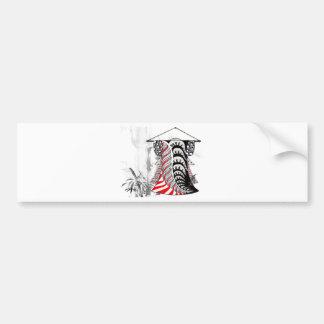 Kimono Tangle Bumper Stickers