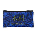 Kimura Monogram Cosmetic Bags
