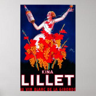 Kina Lillet Vintage PosterEurope Poster