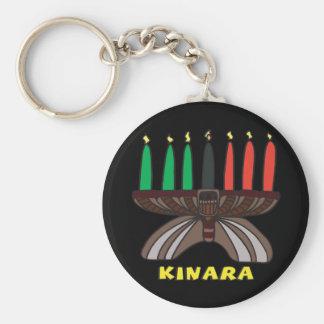 Kinara Basic Round Button Key Ring