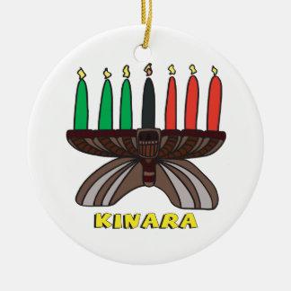 Kinara Round Ceramic Decoration