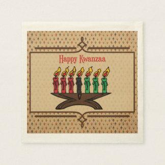 Kinara, Happy Kwanzaa Disposable Serviettes