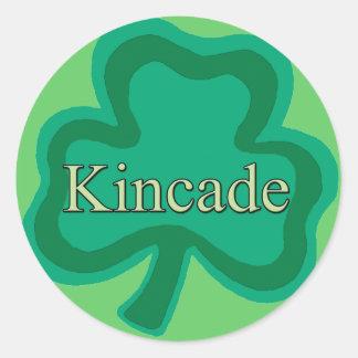 Kincade Family Round Sticker
