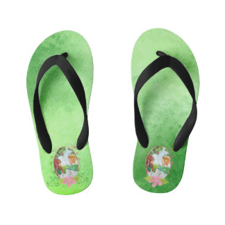 Kind and Queen Custom Flip Flops, Kids Kid's Flip Flops