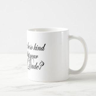 Kind Button Dude Coffee Mug