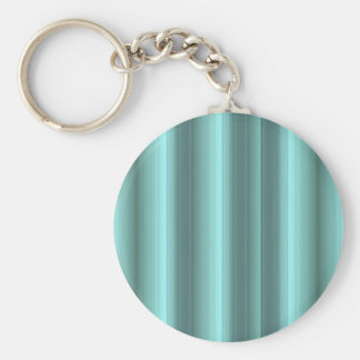 kind Deco green strips Basic Round Button Key Ring