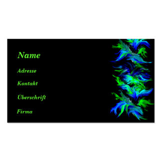 Kind Deco in Rainbow styles Business Card