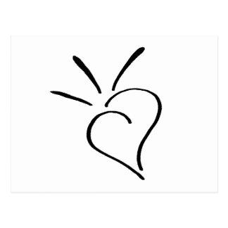 Kind Heart - nd Postcard
