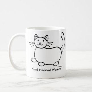 Kind Hearted Woman Left Handed Coffee Mug
