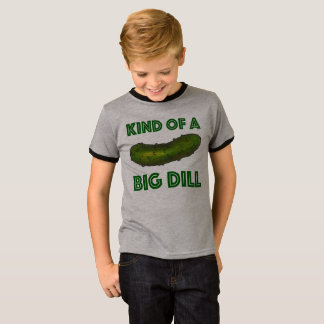 Kind of a Big Dill (Deal) Green Kosher Pickle Tee