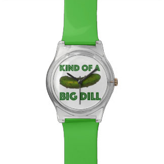 Kind of a Big Dill (Deal) Green Pickle Watch