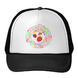 Kind of strawberry hats