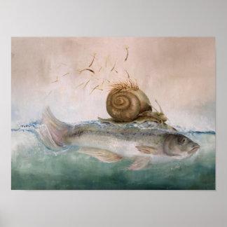 Kind poster tree snail fish