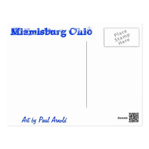 Kinder Elementary School Postcard