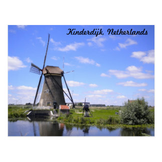 Kinderdijk Holland photo Postcard