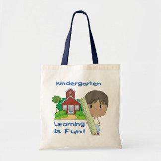 Kindergarten Ethnic Boy Learning is Fun Bags