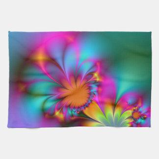 Kindergarten flower hand towel