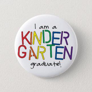 Kindergarten Graduate Button