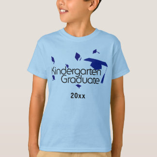 Kindergarten Graduate Shirt (Blue)