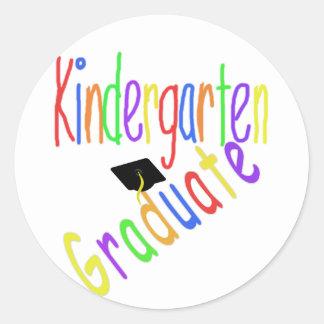 Kindergarten Graduate Stickers