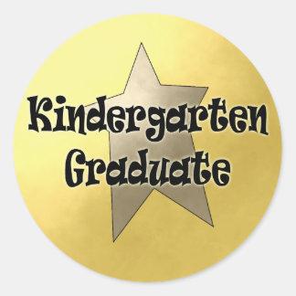 Kindergarten Graduation Gifts Classic Round Sticker