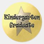 Kindergarten Graduation Gifts Round Sticker