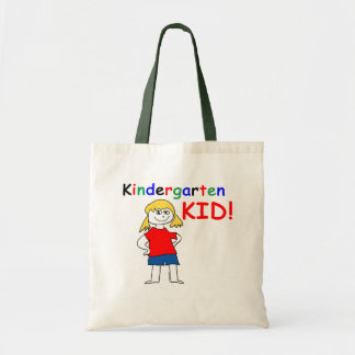 Kindergarten Kid Girls Budget Tote Bag