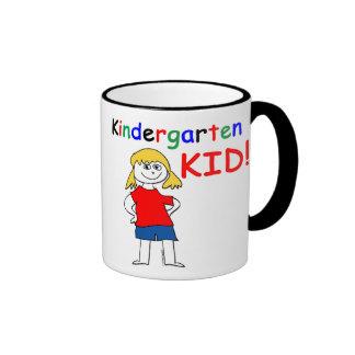 Kindergarten Kid Girls Mug