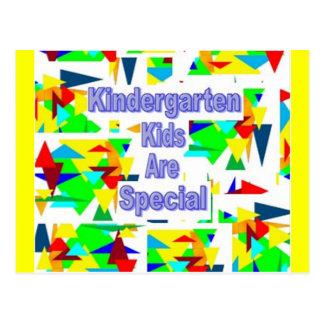 Kindergarten Kids are Special Postcard