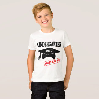 Kindergarten Nailed It - custom year T-Shirt