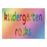 Kindergarten Rocks - Pencil Greeting Cards