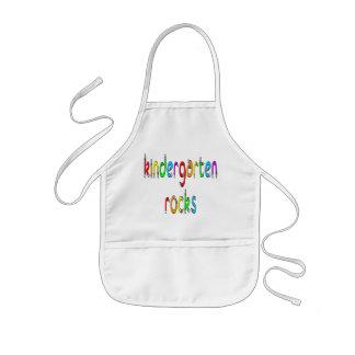 Kindergarten Rocks - Pencil Kids Aprons
