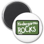 Kindergarten Rocks T-shirt Refrigerator Magnet