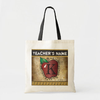 Kindergarten Rocks Vintage Styled Teacher's Bag