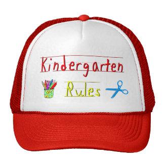 Kindergarten Rules Mesh Hats