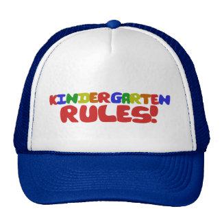 Kindergarten Rules Trucker Hats