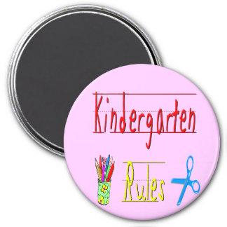 Kindergarten Rules Magnets