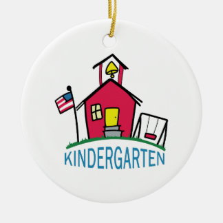 KINDERGARTEN SCHOOL CHRISTMAS ORNAMENT