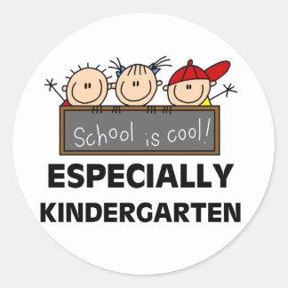 Kindergarten School is Cool Classic Round Sticker