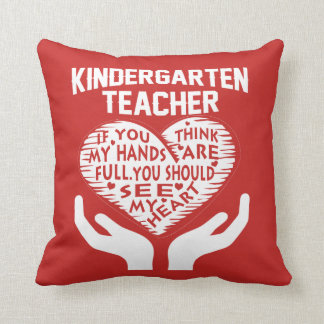 Kindergarten Teacher Cushion