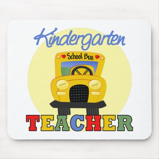 Kindergarten Teacher Gift Mouse Mat